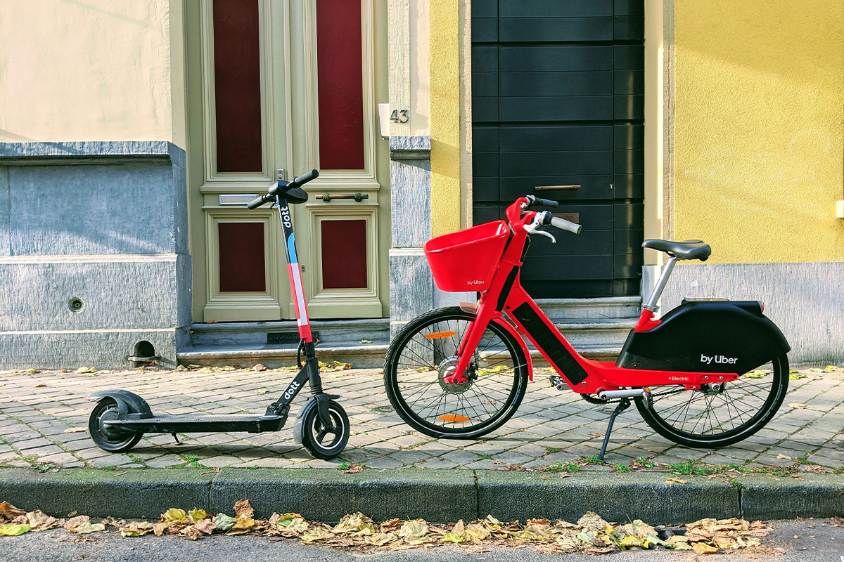 Scooters: A Sign of Opportunity for Cycling